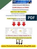 Robot Forex - For Ex Macro - Fx rio - Robots de Forex