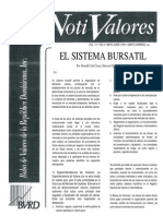 EL SISTEMA BURSATIL