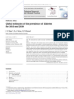 11. Global Estimates of the Prevelence of Diabetes for 2010 and 2030