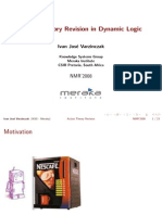 Action Theory Revision in Dynamic Logic