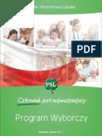 Program Wyborczy PSL