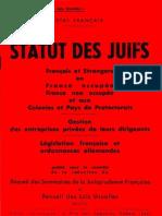 Statut Des Juifs - 1941