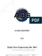 AR1 Audit.report(Stage 2)Majik