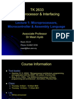Microprocessors, Micro Controller Assembly Language