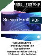 M. Rodhi Aulia, Service Exellence Leader Heart