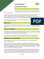 Unmet Needs - Future Prospects - Hub Format