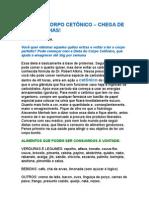 Dieta Do Corpo Cetônico - Chega de Gordurinhas - Raquel Fortuna - Dieta