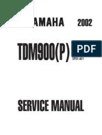 Tdm900ServiceManual2002