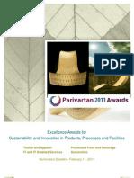 Parivartan Award Brochure