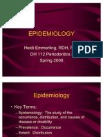 1 Perioii 1 Epidemiology Week 1-2