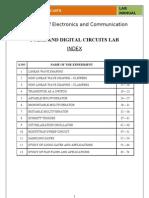 electronic circuit analysis (eca) lab manual spice electricalpdc lab manual