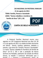 Carta de Belo Horizonte