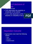 Interpersonal Negotiation