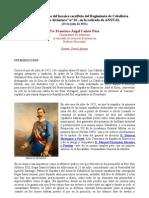 """En el 90º aniversario del heroico sacrificio del Regimiento de Caballería """"Cazadores de Alcántara"""" nº 14 , en la retirada de ANNUAL"""