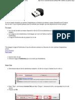Installer un système depuis une clé usb (OS et utilitaire)