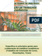Normalização TCC - maio 2011