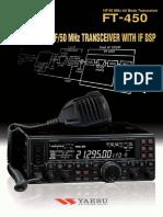 Yeasu FT-450 Manual