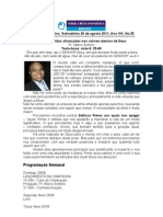 Boletim Iceresgate.com.Br 2011-08-28