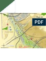 Mapa Tramo 2 Del Parque Lineal Del Manzanares