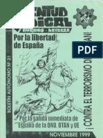 Juventud Radical 21 Noviembre 1999
