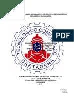 Propuesta Para El Mejoramiento Del Proceso de Fabricacion de Calderos en INSA Ltda. - Para Combinar