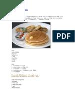 美式松饼 Pancake