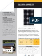 Sun Power a Panel Datasheet