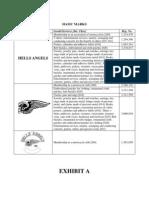 Hells Angels v. Wildfox, et al., Complaint Exhibits