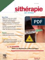 Kine Myofasciite a Macrophages