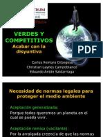 Verdes y Competitivos d.e.