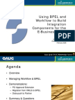 BPEL and Workflow