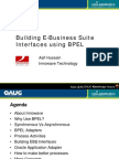 EBS Interfaces Using BPEL
