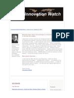 Innovation Watch Newsletter 10.18 - August 27, 2011