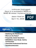 WMS Wireless Implementation