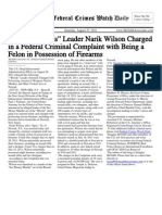 August 27, 2011 - The Federal Crimes Watch Daily