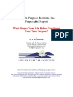Inherited Purpose (Free Special Report)