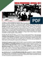 Compendio Del Curso Movimientos Sociales 2011 (CIES)