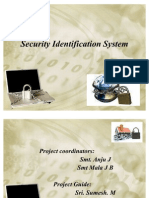 Security Identification System