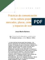 Prácticas de comunicación en la cultura popular