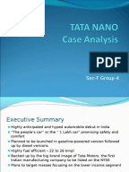 tata nano case study questions Education index tata nano case study for each case answer the following questions: 1 a case of tata nano in india executive summary.