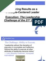 Covey Leadership Challenge
