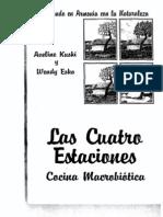 MACROBIOTICA - Macrobiotica Las Cuatro Estaciones - Cocina Macrobiótica