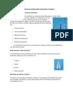 INSTRUMENTOS DE LABORATORIO DE BIOLOGÍA Y QUIMICA