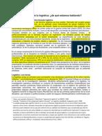 CAPITULO 1 - HISTORIA Y TEMÁTICA DE LA LOGÍSTICA DE QUÉ ESTAMOS HABLANDO