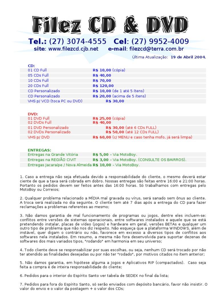 Filezcd abril 2004 fandeluxe Gallery
