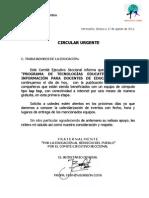 Circular Urgente_y Relacion_lap Tops Seccion 28