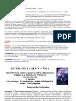 ESCARLATE E A BESTA - resumo dos 3 Vol deste livro