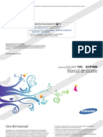 Manual Samsung Galaxy Tab