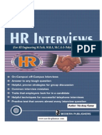 HR Interviews by Navdeep Kumar