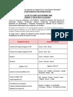 Examen Diciembre Portugues 2008